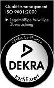 Dekra zertifiziert, Qualitätsmanagement ISO 9001:2000